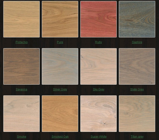 Новые цвета мебели с помощью натурального масла Rubio Monocoat