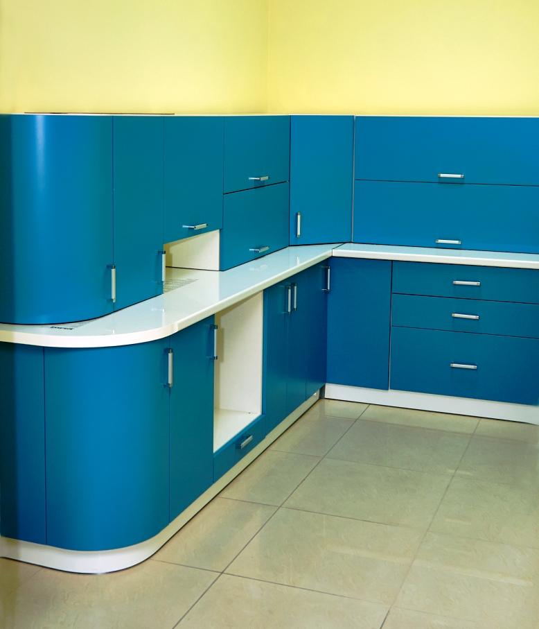 ЛИКВИДАЦИЯ. Образец мебели для кухни с фасадами МДФ