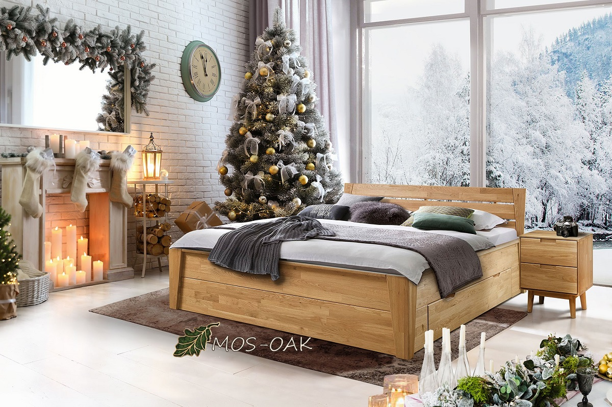 Кровать Даника из массива дуба купить