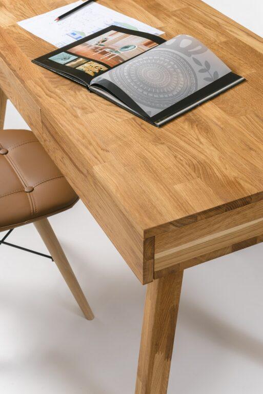 Стол письменный из дуба Модерн-01
