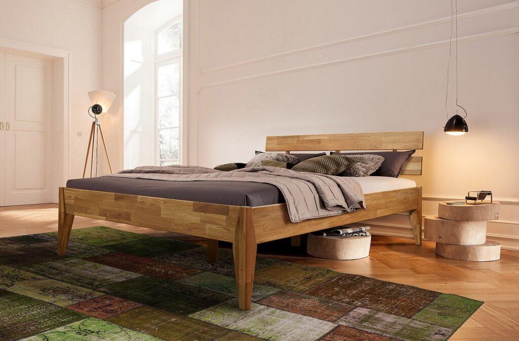 Кровать Эльке из массива дуба
