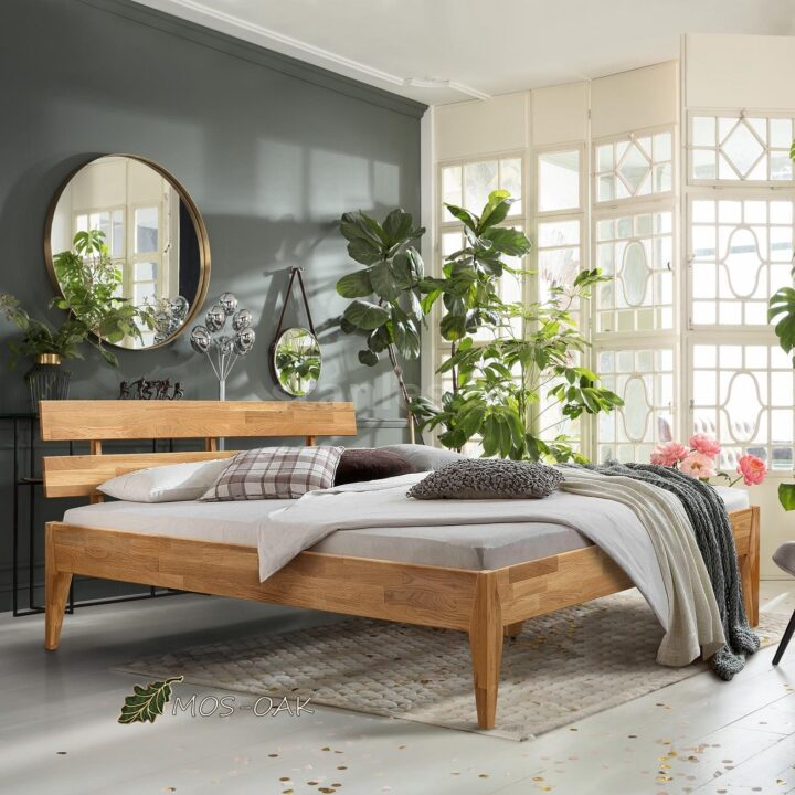 Кровать Эльке Stanles из массива дуба