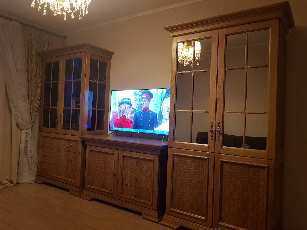 """Гостиная """"Марселла"""" с резьбой"""
