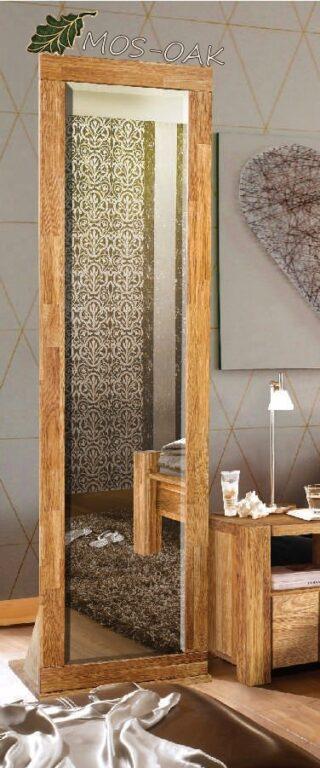 Зеркало Валенсия из массива дуба