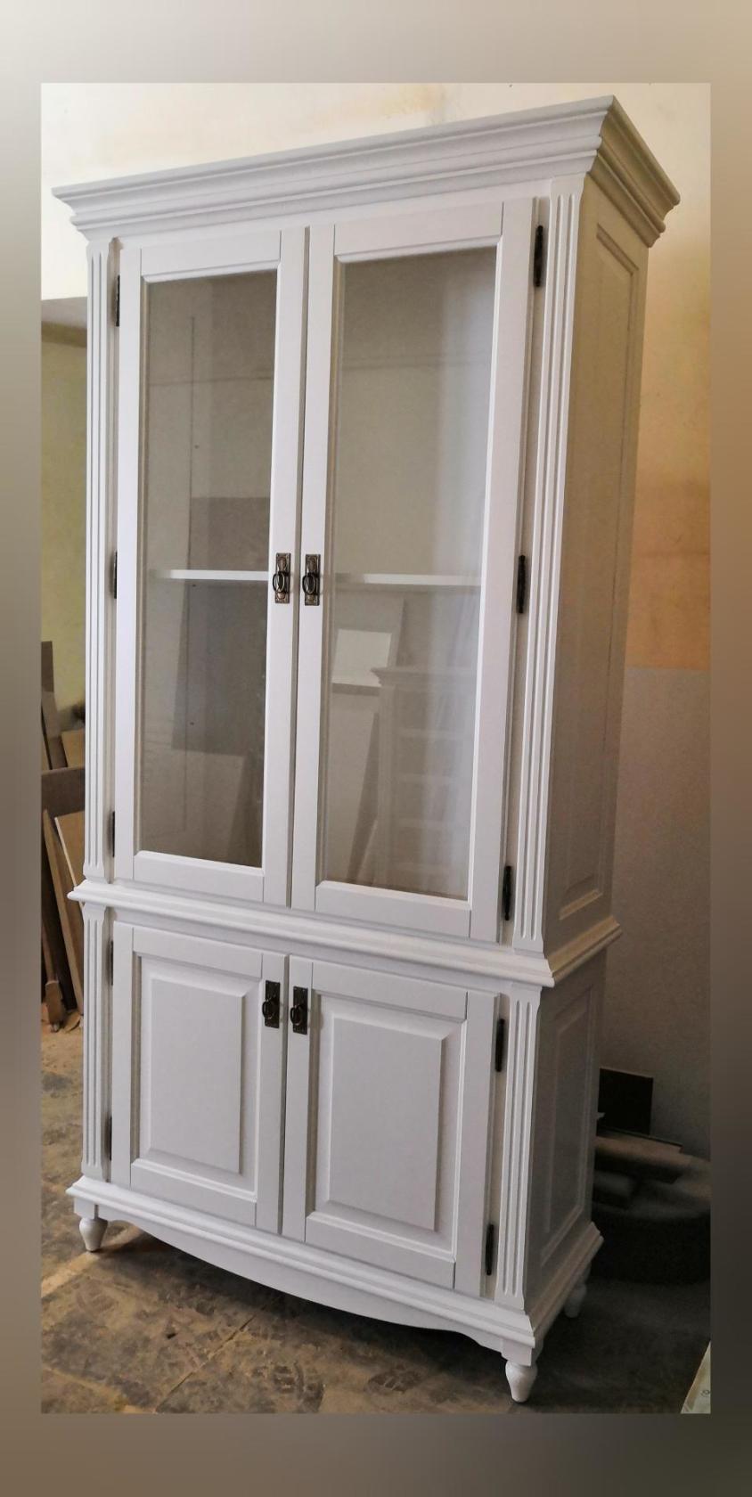 Шкаф-витрина комбинированный «Марселла»