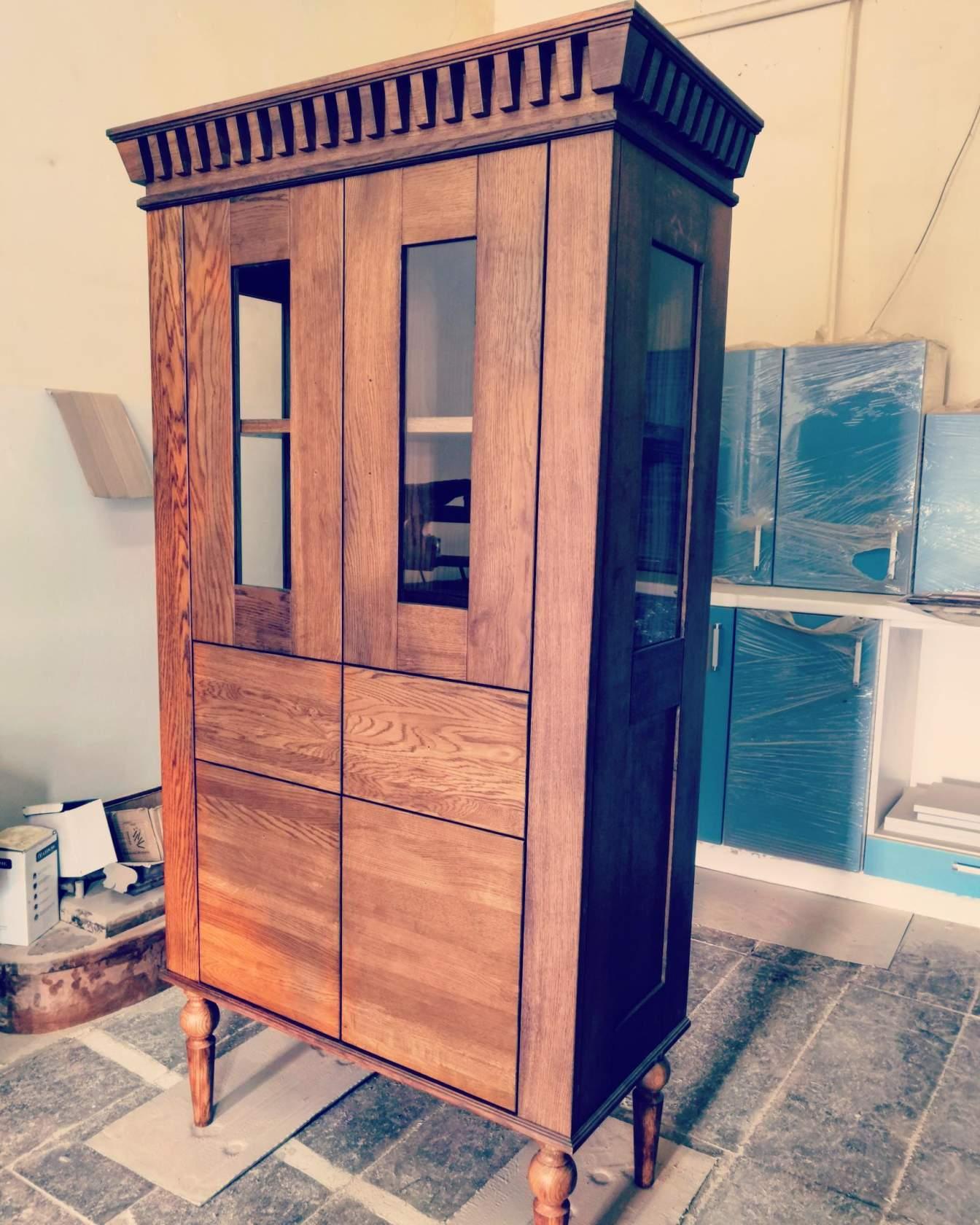 Шкаф-витрина комбинированный «Марселла-3»