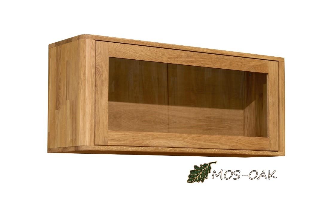 Шкаф навесной Лозанна-1 из массива дуба