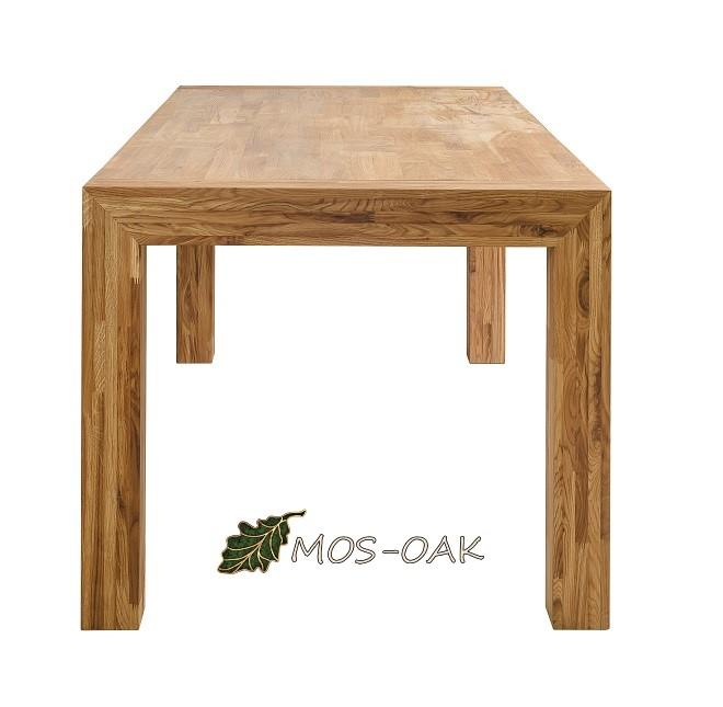 Стол обеденный раздвижной Зарг из массива дуба