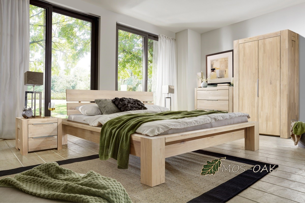 Спальня Фьорд из массива дуба