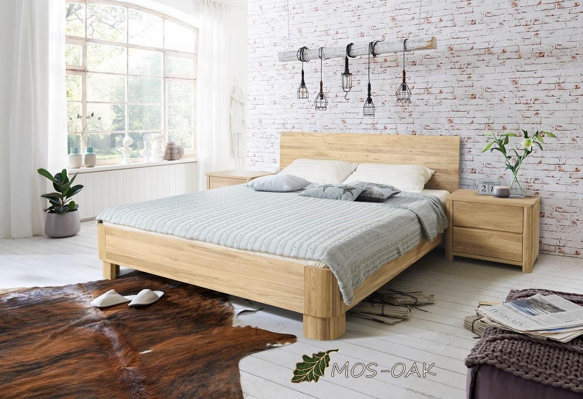 Спальня Лозанна-1 из массива дуба