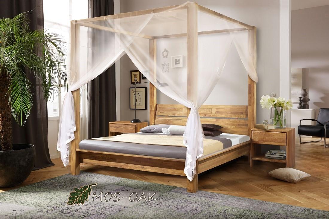 Кровать «Севилья+» из массива дуба