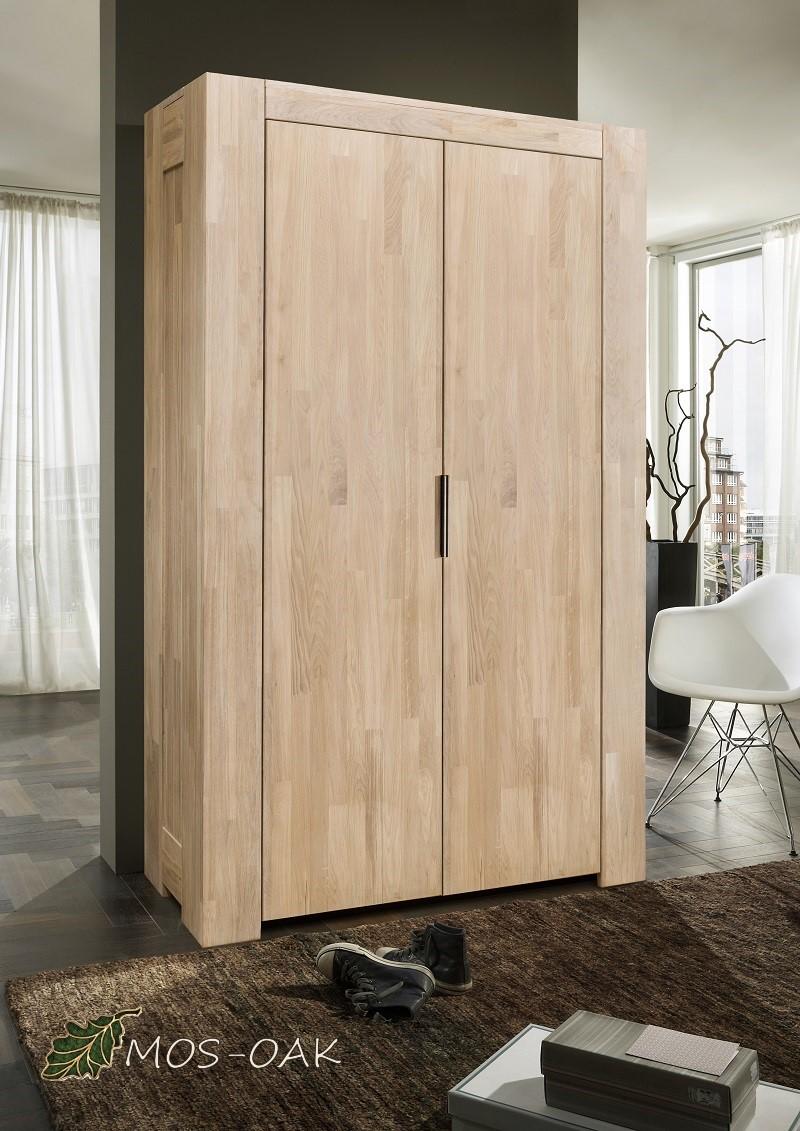 Шкаф 2-х дверный Фьорд из массива дуба