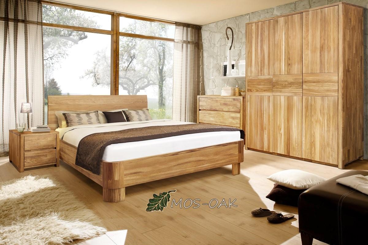 Спальня Лозанна-3 из массива дуба