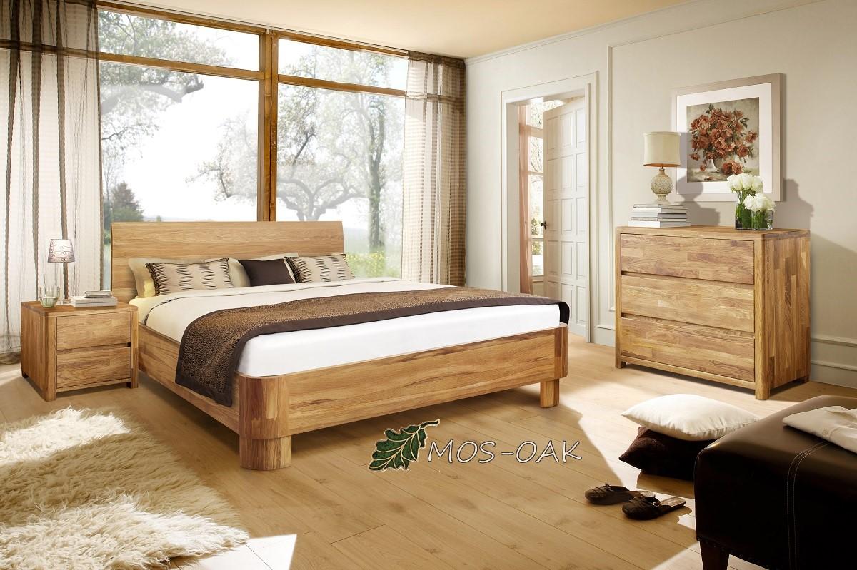 Спальня Лозанна-2 из массива дуба