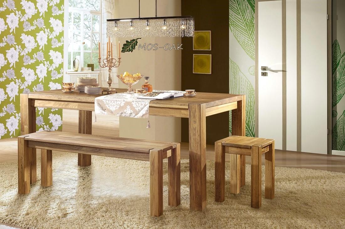 Стол обеденный Прованс-1 из массива дуба