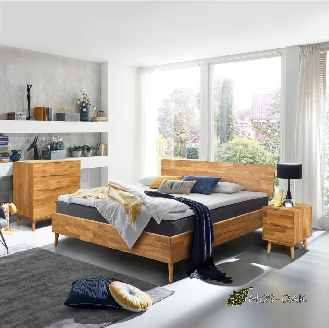Спальня Сканди-2 из массива дуба