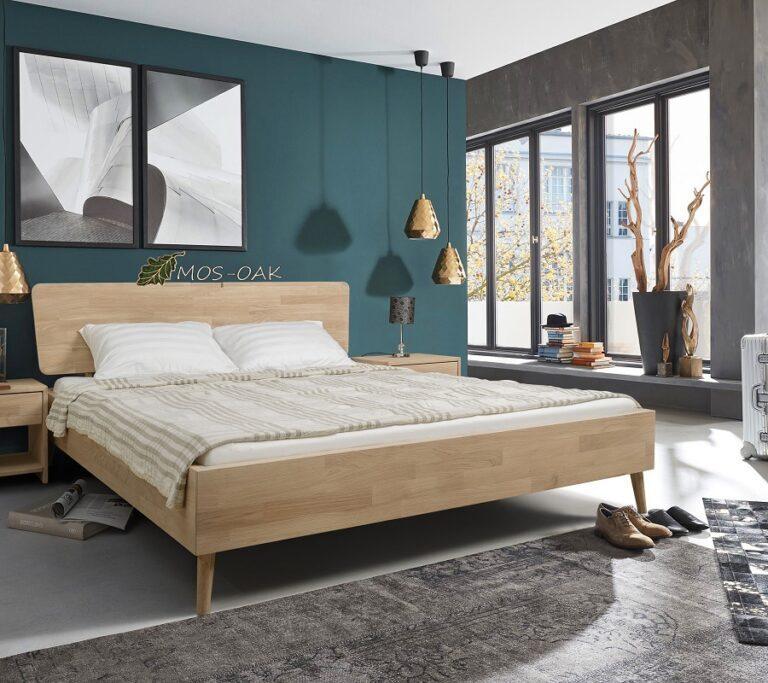 """Кровать """"Сканди"""" из массива дуба"""