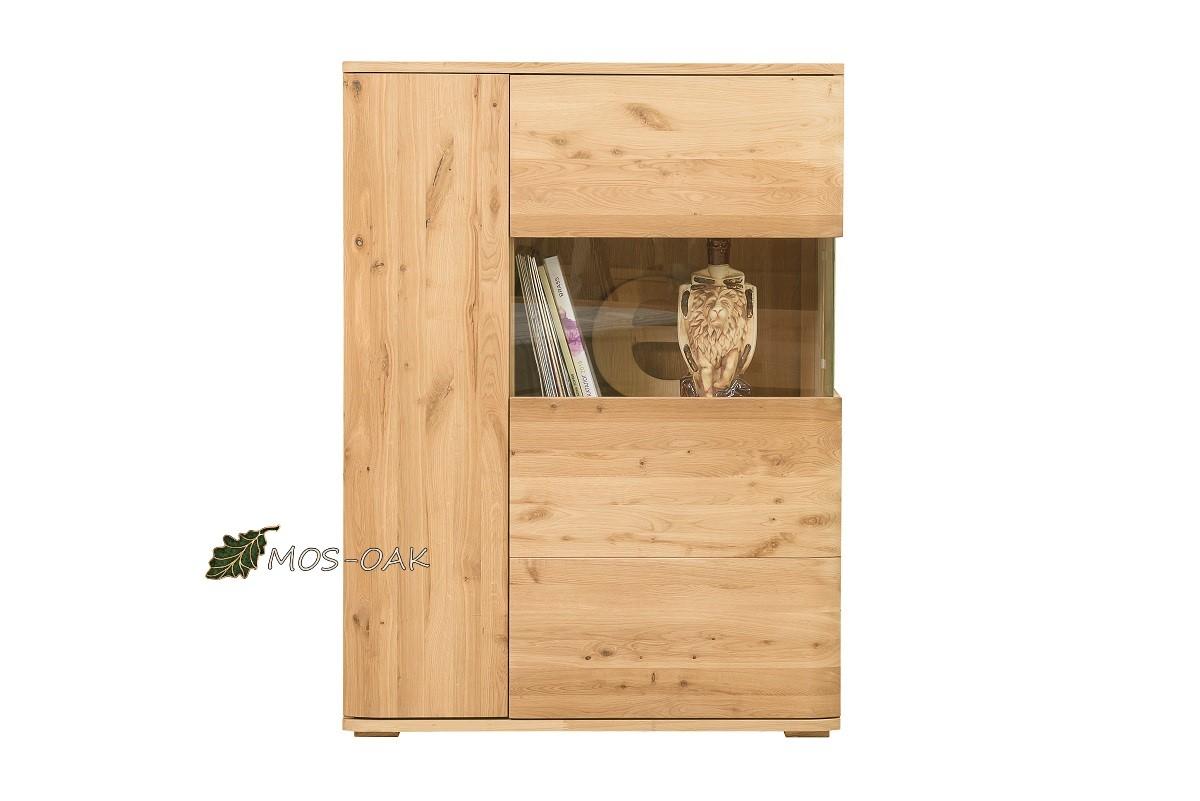 Шкаф с витриной Милтон-2