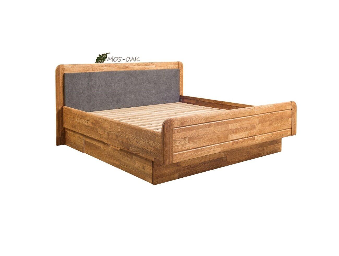 Кровать из дуба Эльза