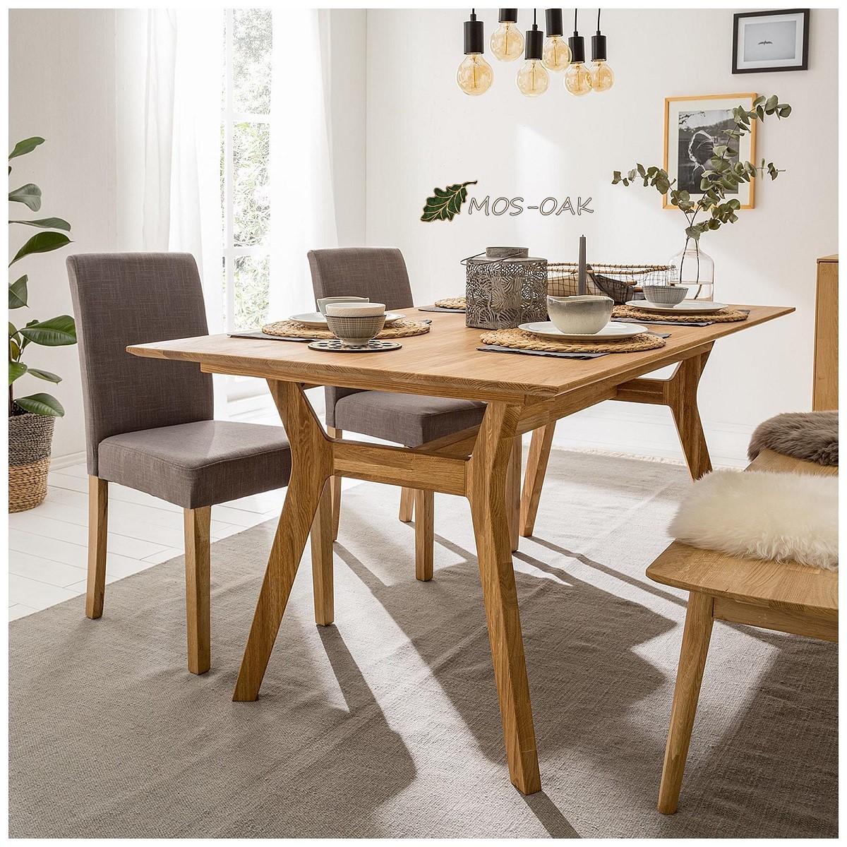 Стол обеденный Хельсинки из массива дуба
