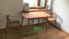 Стол обеденный Сканди из массива дуба