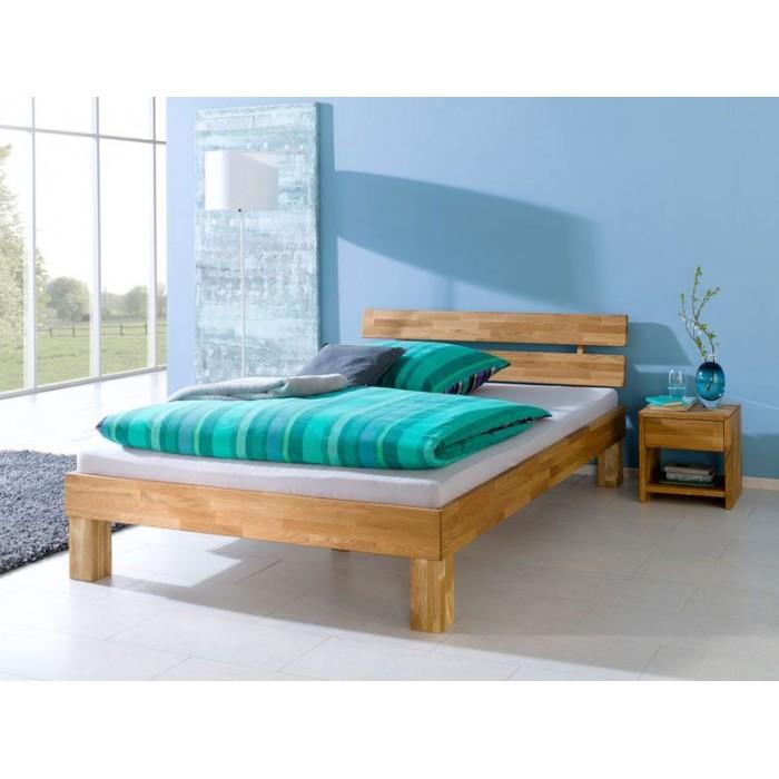 Купить кровать из дуба в европейском стиле