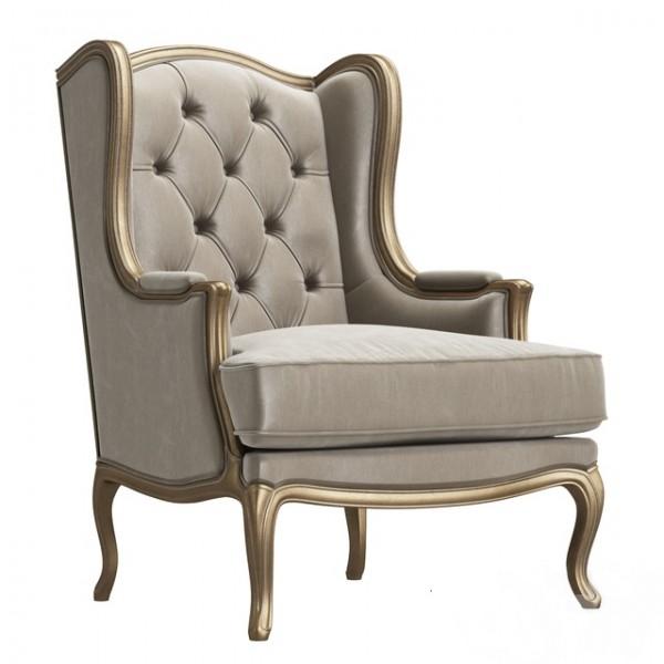 Кресло классическое с каретной стяжкой