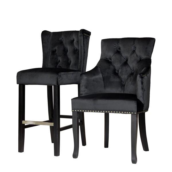 Изящный стул Tuson с подлокотниками