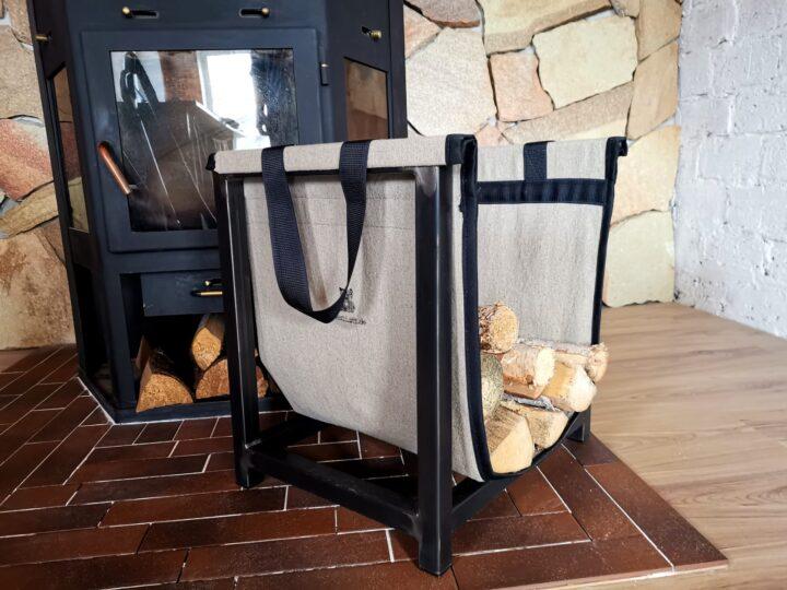 Дровница с переносной сумкой