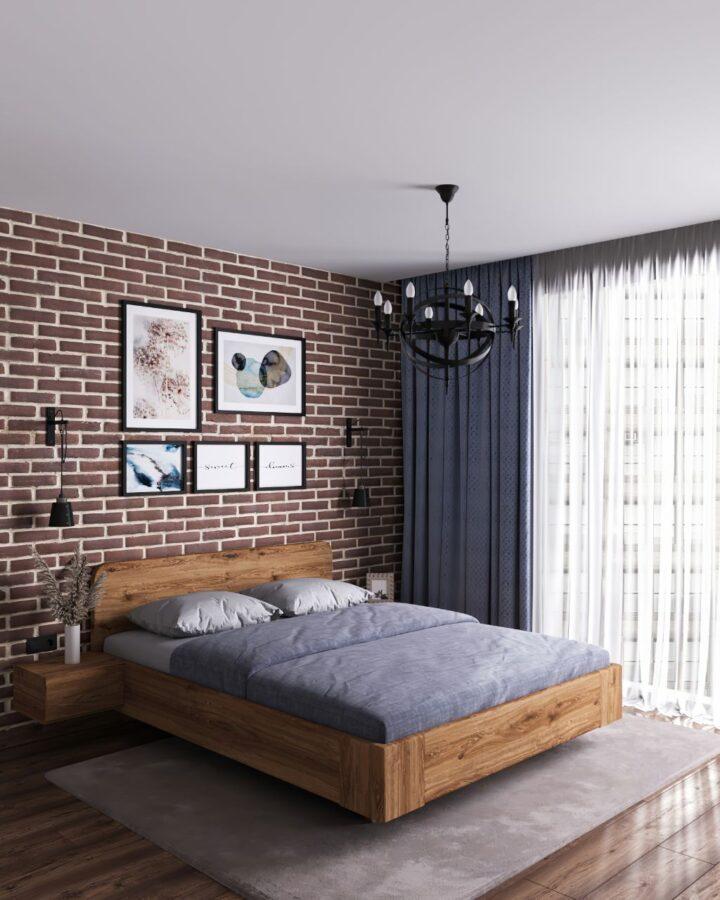Кровать из дуба Obol Arte купить
