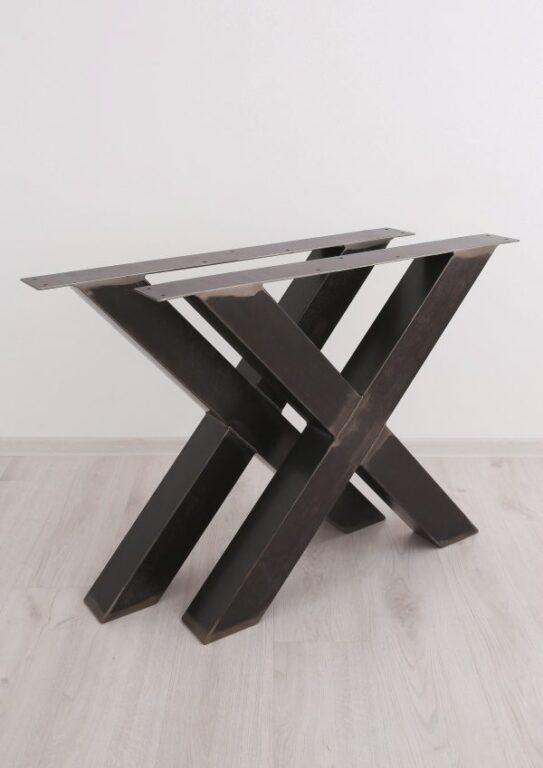 Ножки стола Х-формы